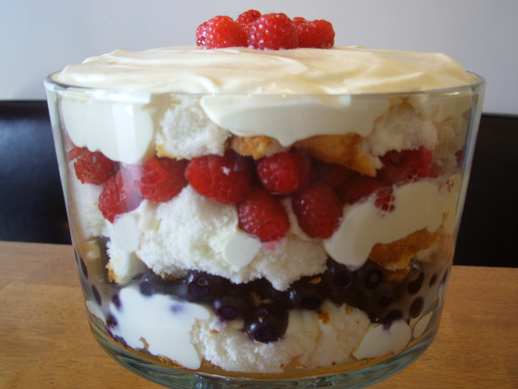 Tips O' Mania - Scrumptious Trifle cake pudding at Tips O Mania